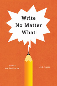 Write No Matter What book cover